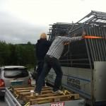 Gunnar held eit lass byggegjerder. Det er ingenting for ein revisor som han.