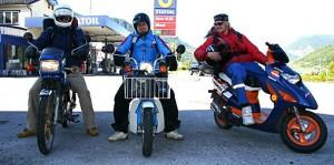 Breilid på mopedtur