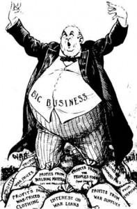 Kapitalistisk grådigheit